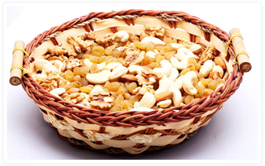 DryFruit Basket with all kinds of Dry Fruits