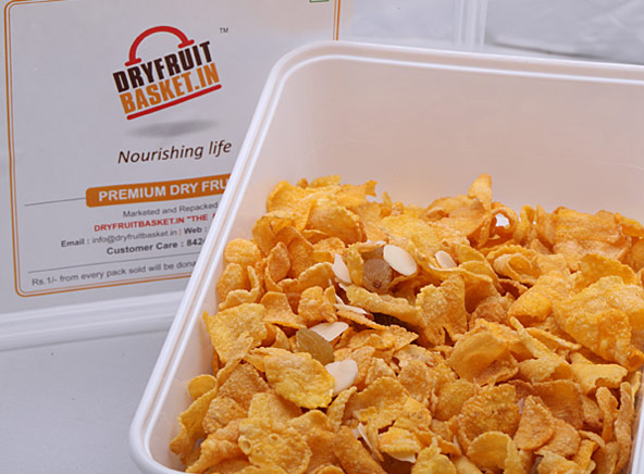 Dryfruit With Corn Flakes - Dry Fruits
