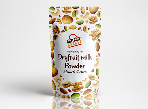 Dryfruit Milk Powder - Dry Fruits