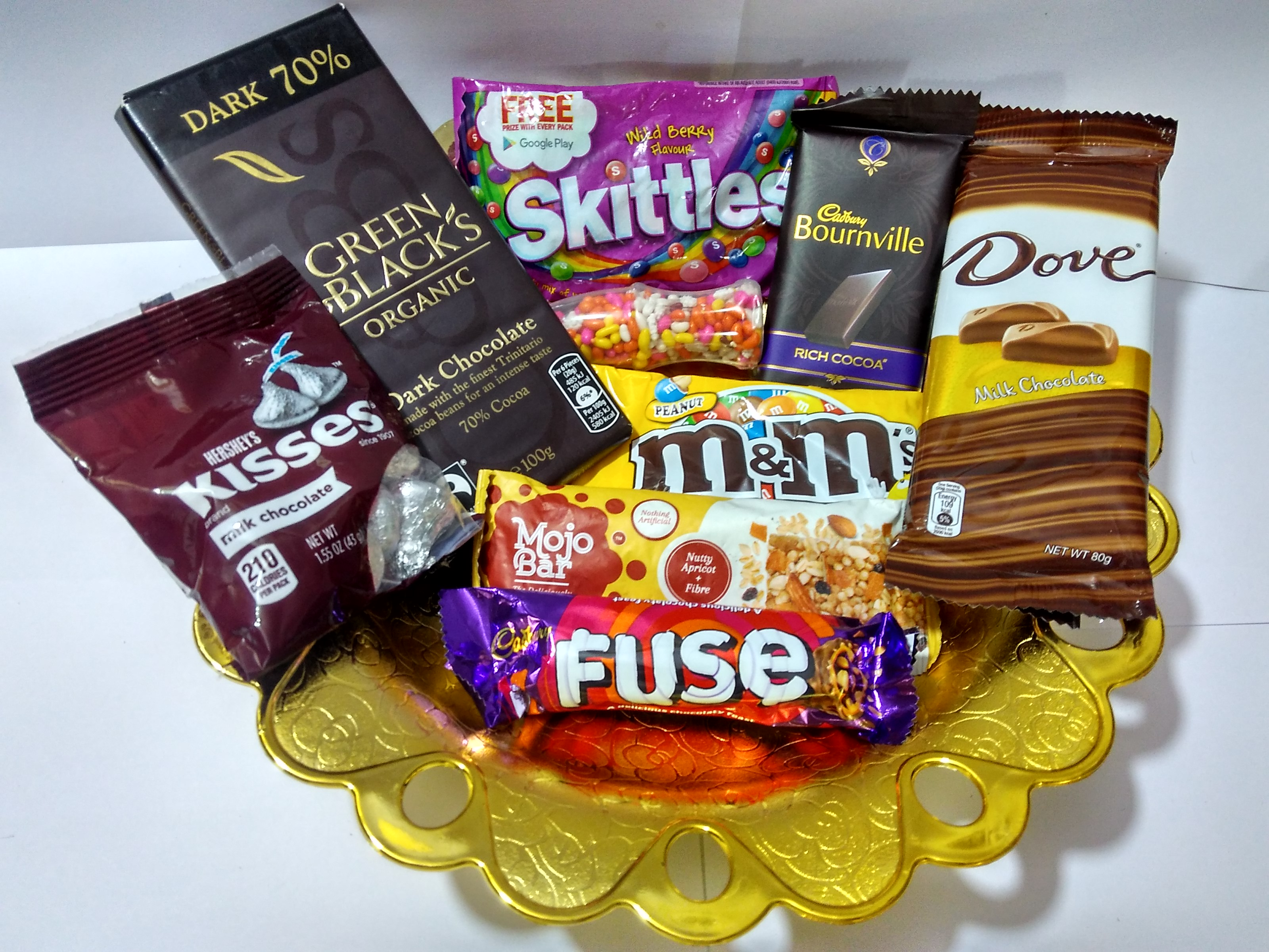 CHOCOLATE TRAY - CHOCOLATE BASKET